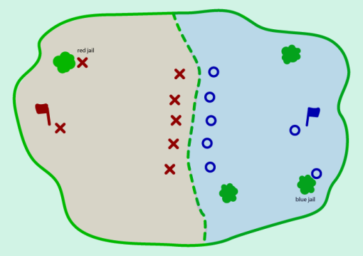 Capt the Flag Map